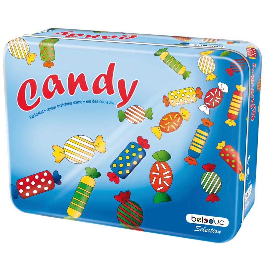 BELEDUC บอร์ดเกมเด็ก CANDY (METAL BOX)