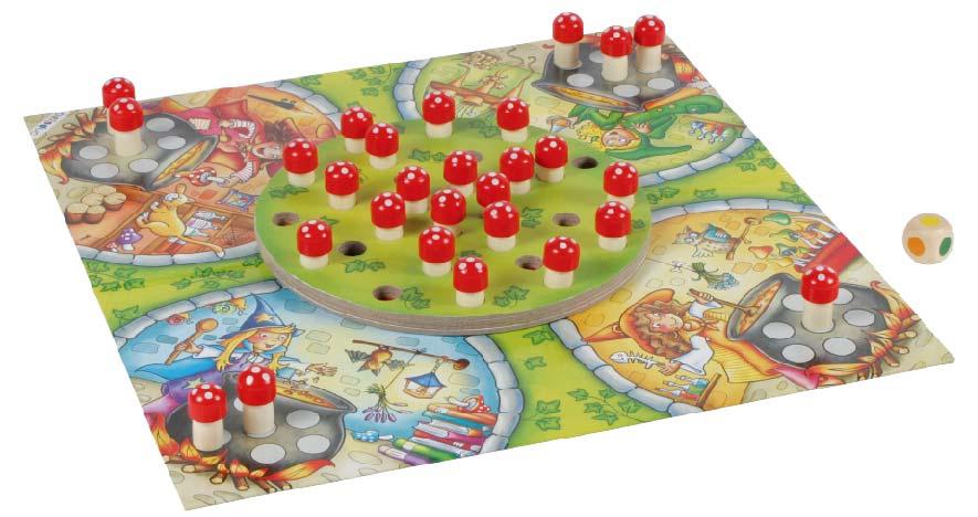 BELEDUC บอร์ดเกมเด็ก HEXENKUCHE (WITCHES' KITCHEN)