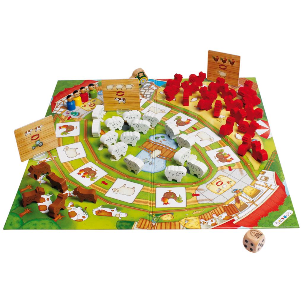 BELEDUC บอร์ดเกมเด็ก HAPPY FARM (CARD BOARD)