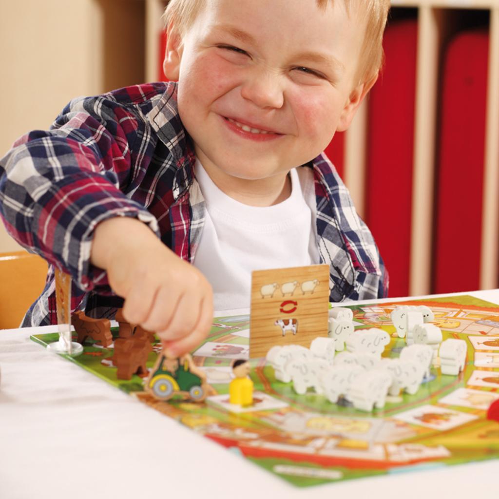 บอร์ดเกมเด็ก BELEDUC - HAPPY FARM (CARD BOARD)