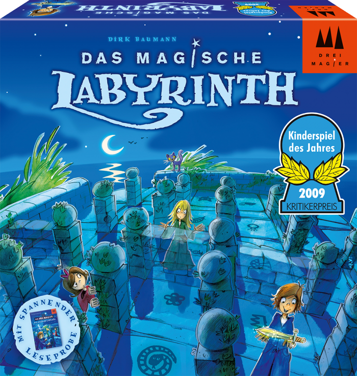 DREI MAGIER บอร์ดเกม THE MAGIC MAZE (THE MAGIC LABYRINTH)