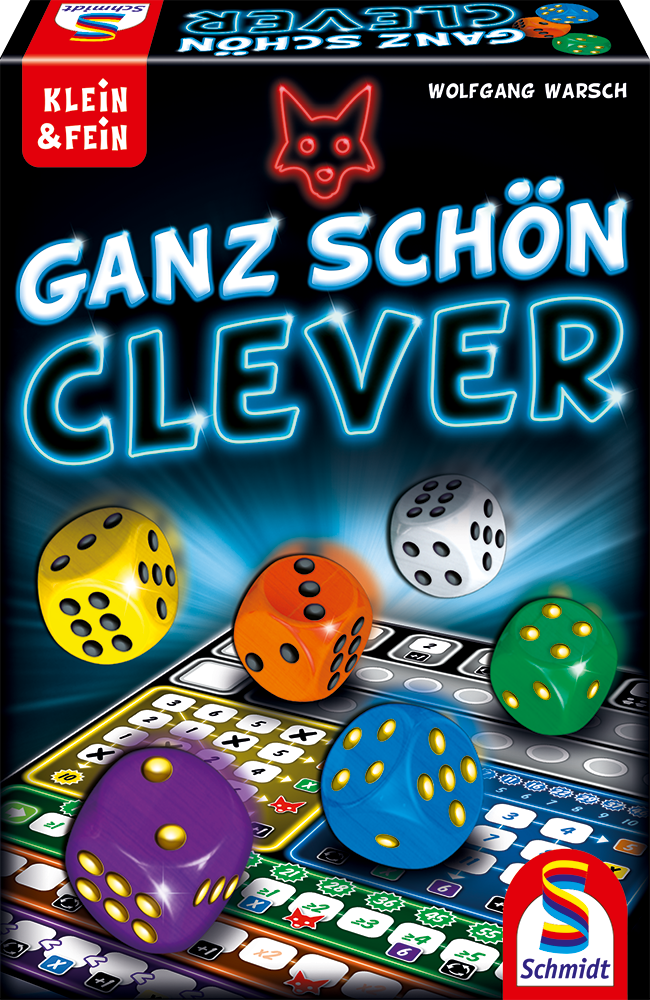บอร์ดเกม SCHMIDT - GANZ SCHON CLEVER