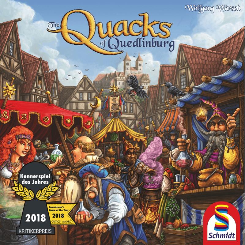 SCHMIDT บอร์ดเกม THE QUACKS OF QUEDLINBURG