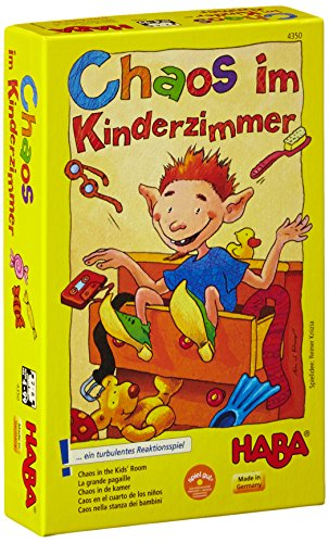 HABA บอร์ดเกมเด็ก 4350 CHAOS IN THE KID'S ROOM