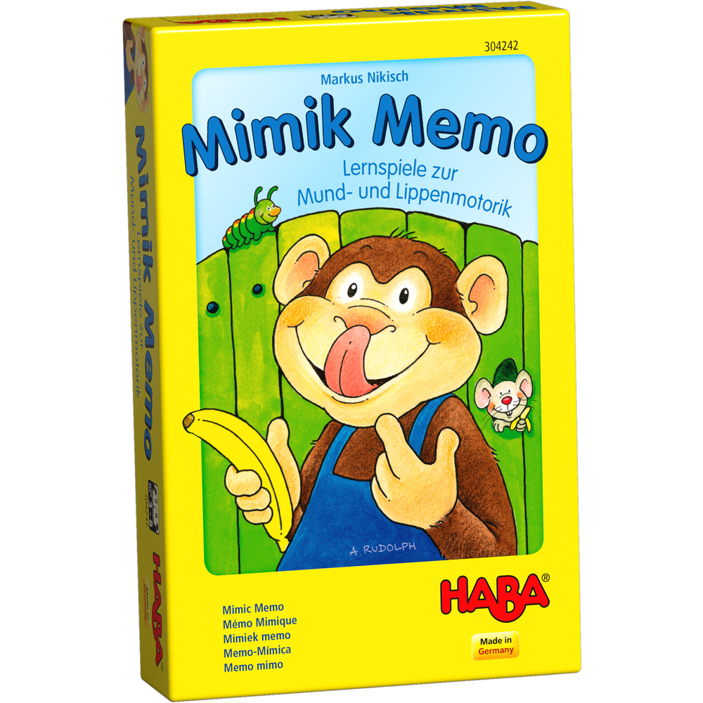 บอร์ดเกมเด็ก 4732 MIMIC MEMO