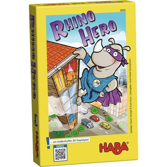HABA บอร์ดเกมเด็ก 4789 RHINO HERO