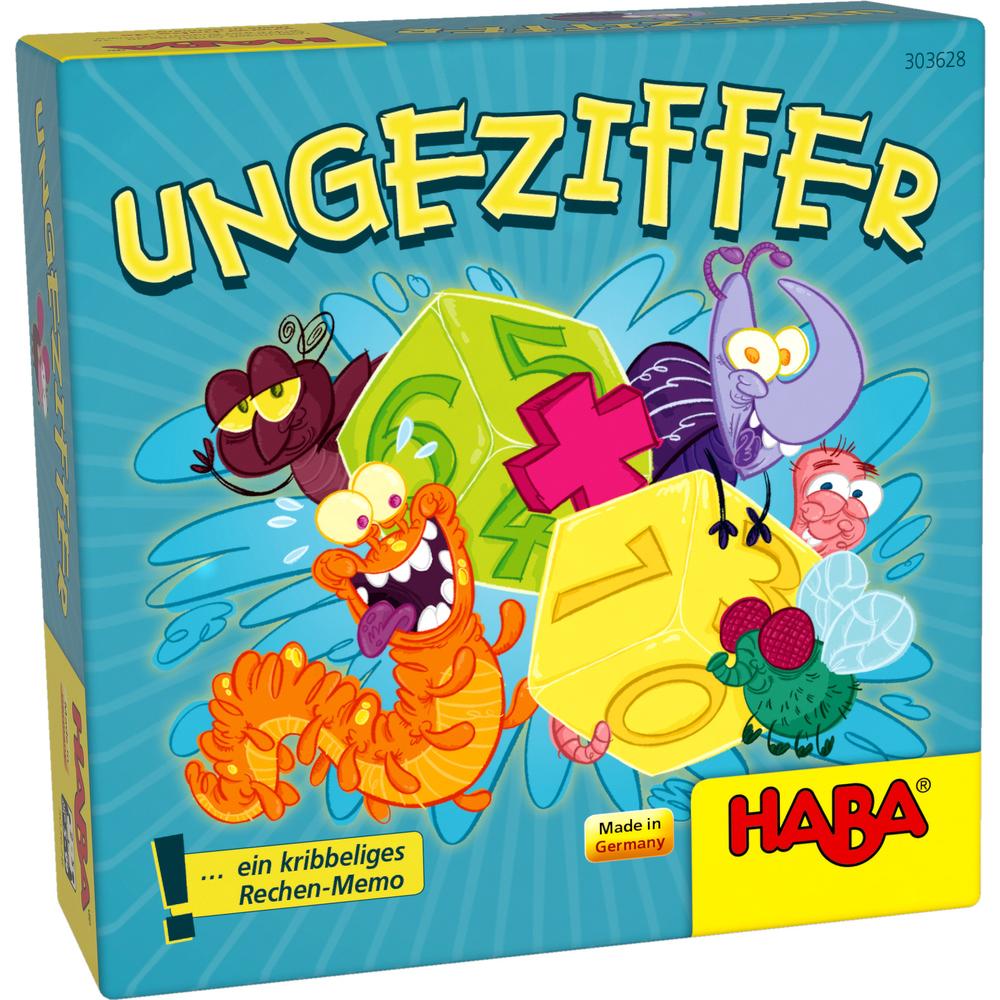 HABA บอร์ดเกมเด็ก 303628 BUGGY NUMBER
