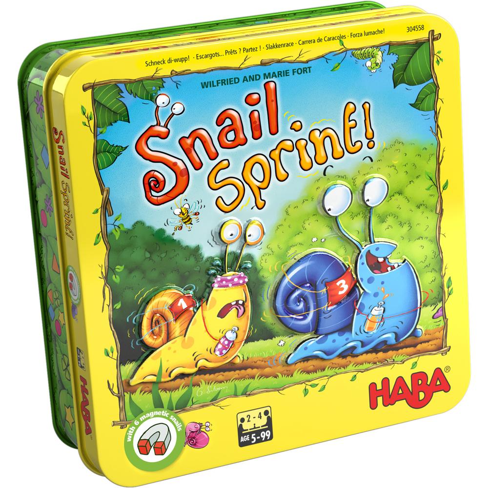HABA บอร์ดเกมเด็ก 304026 SNAIL SPRINT